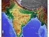 Inde, Carte des reliefs