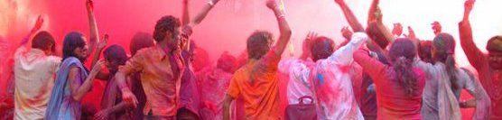 Holi, festival des couleurs !